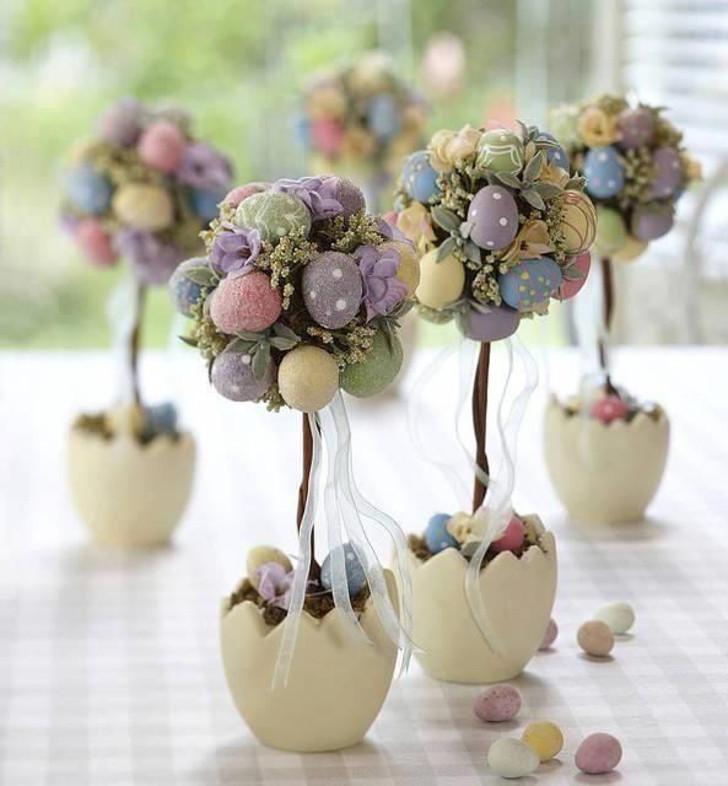 arranjo para decoração de páscoa