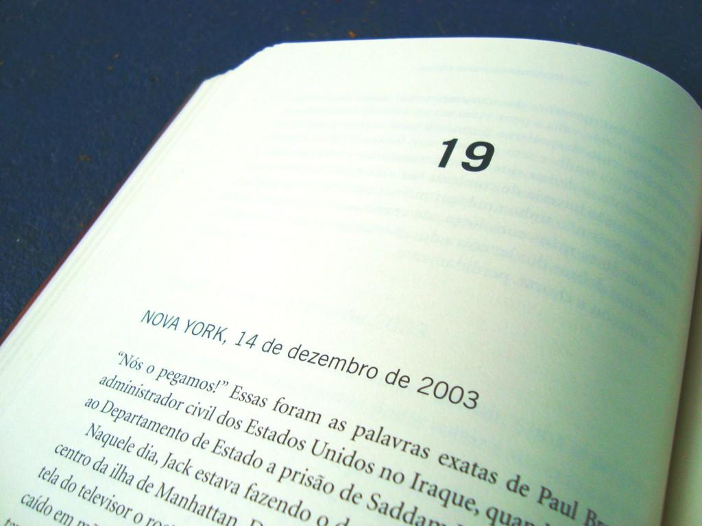 página do livro Anoitece no Iraque - Projeto Brainwashing