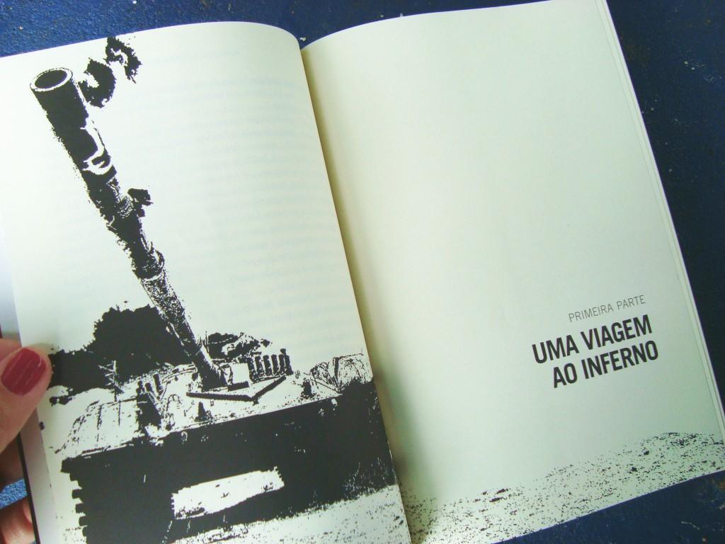 páginas do livro Anoitece no Iraque - Projeto Brainwashing