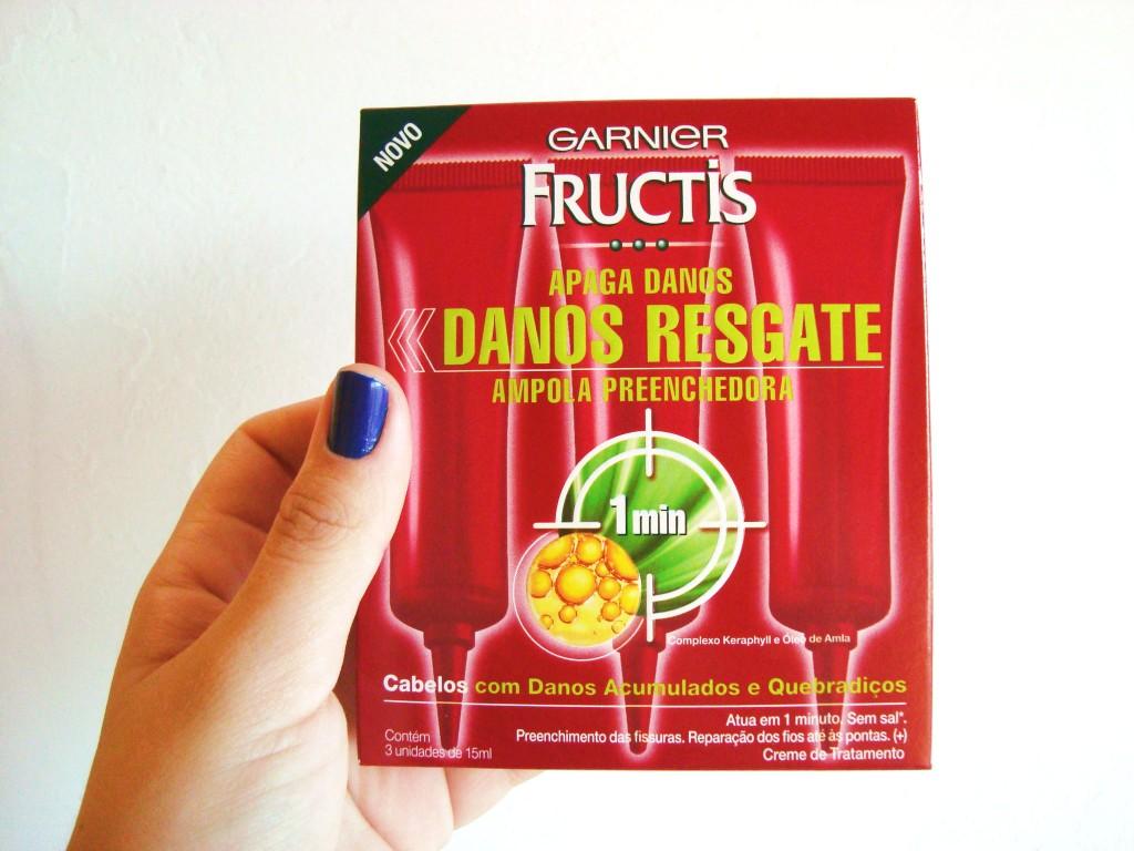 ampolas para tratamento de cabelos Fructis - Garnier