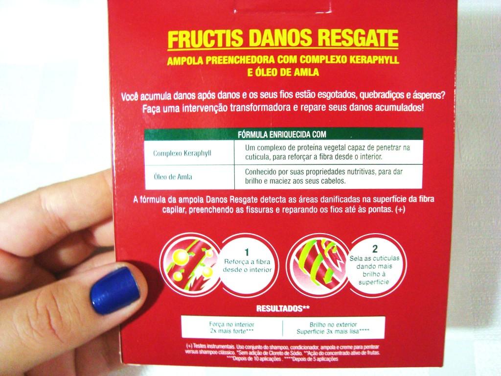 Ampola de reparação e hidratação para cabelos - Garnier