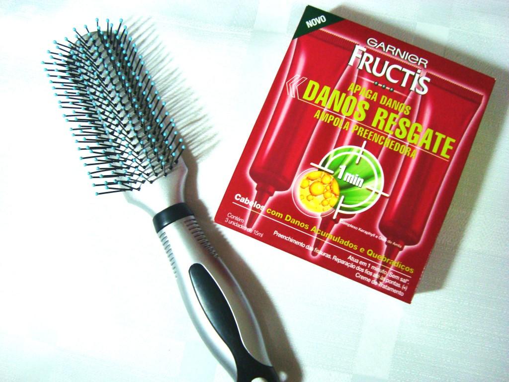 ampola de hidratação profunda para os cabelos ,fructis - garnier