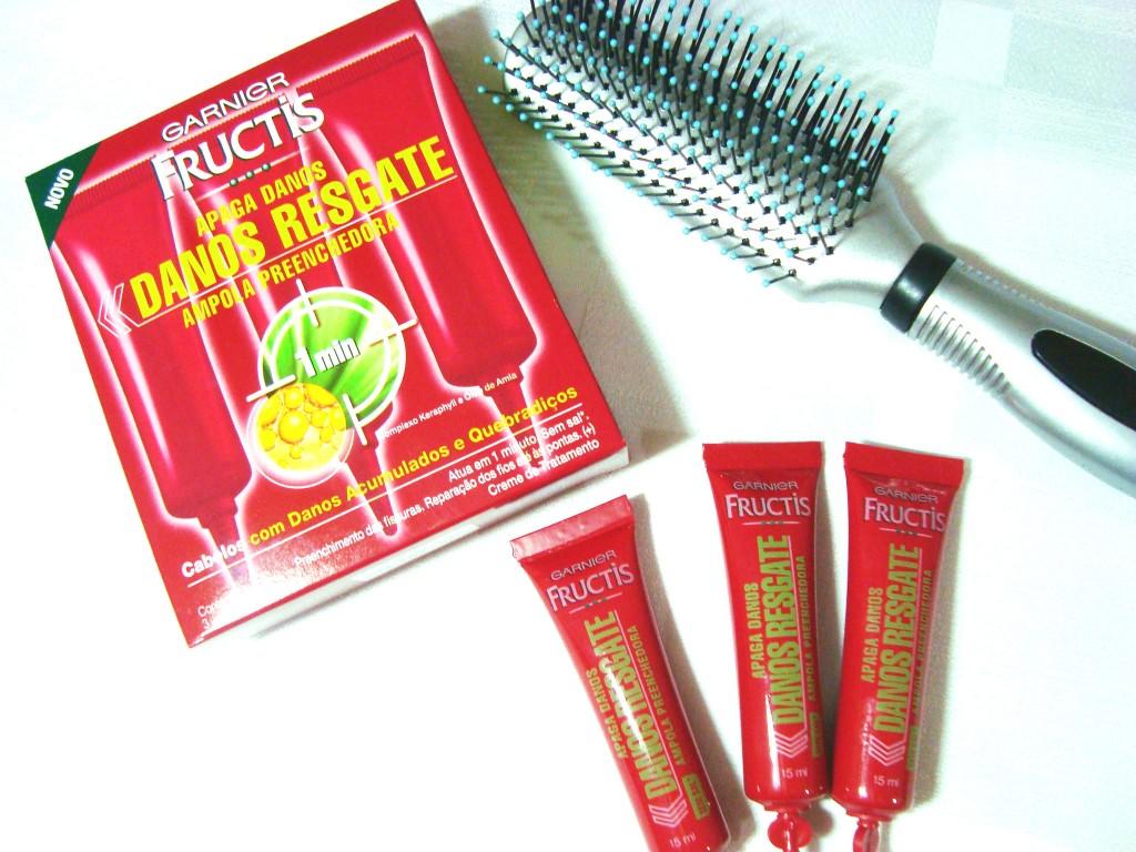 ampola de hidratação para os cabelos - fructis