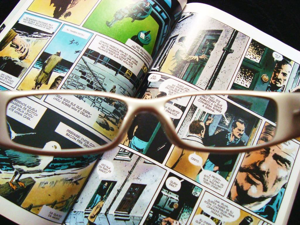 páginas da HQ/livro V de vingança
