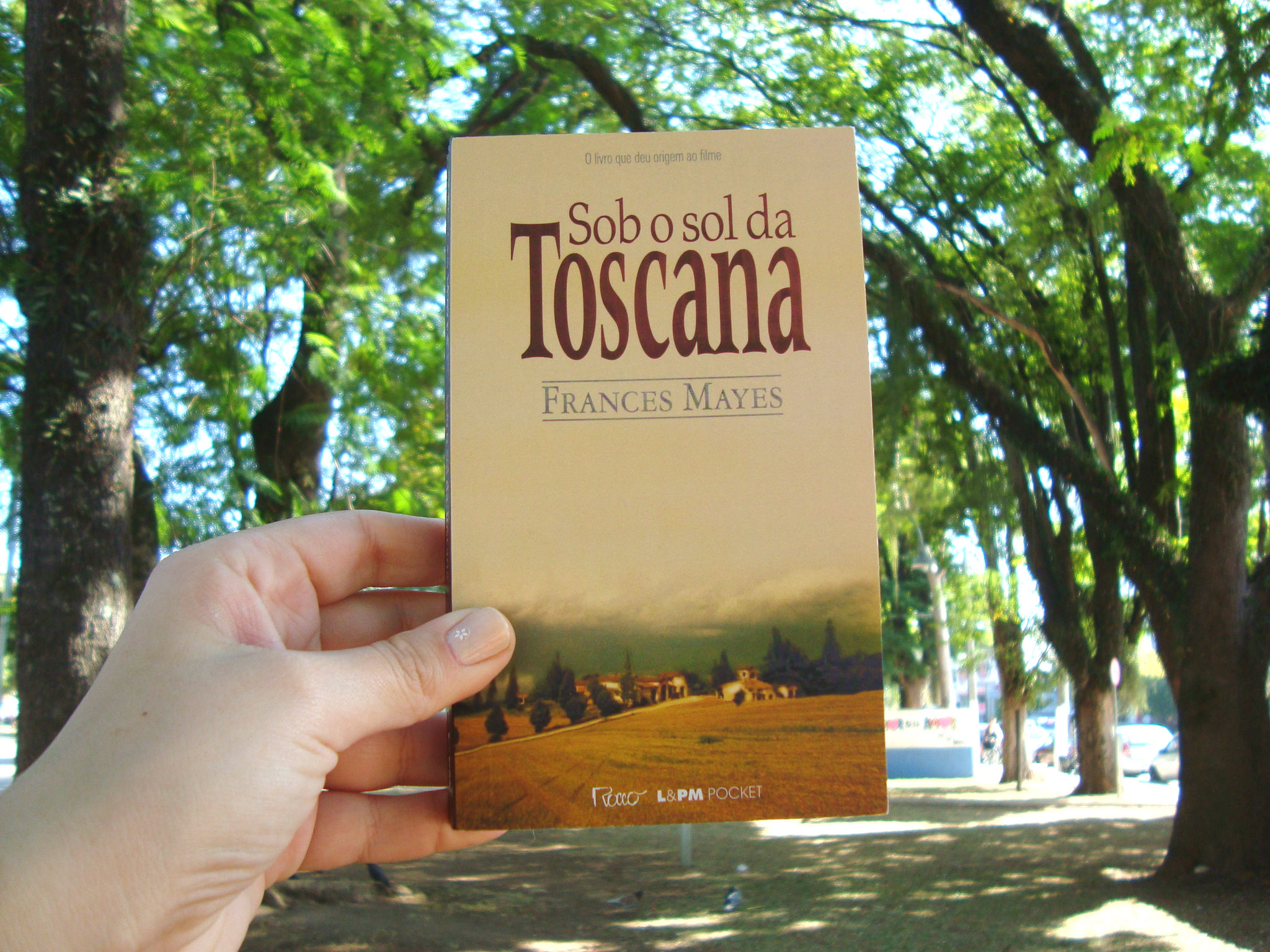 Capa do livro Sob o sol da Toscana