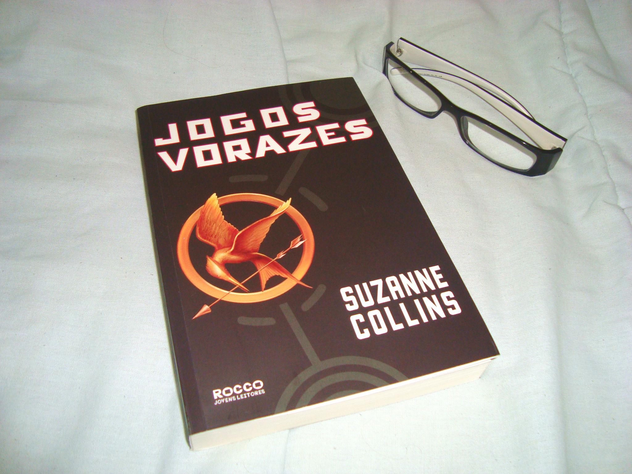 Capa do primeiro livro da trilogia Jogos Vorazes