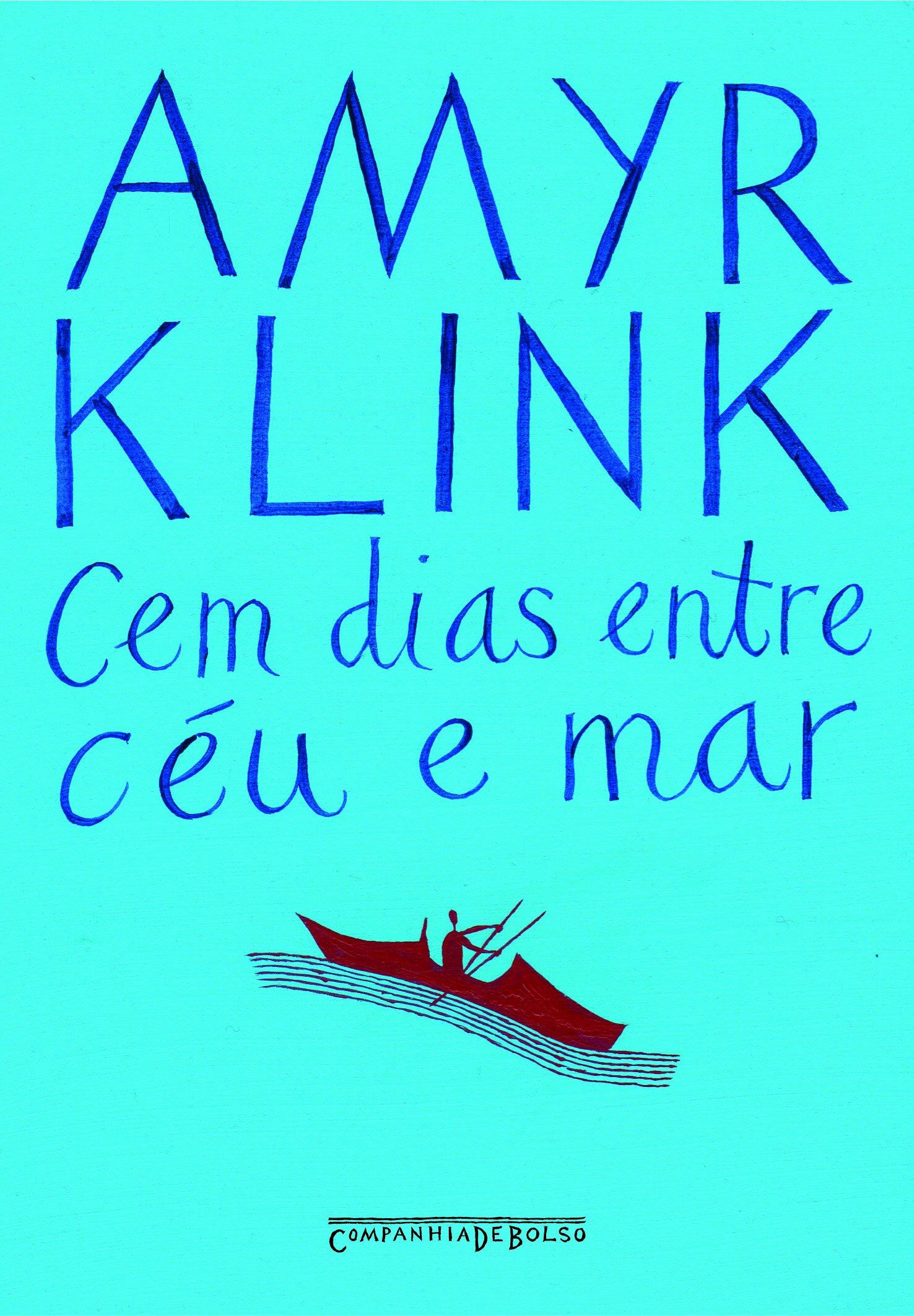 """Capa do livro """"Cem dias entre céu e mar"""""""