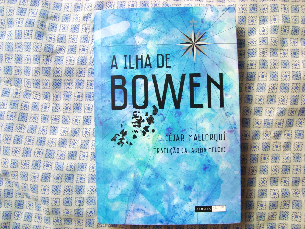 capa do livro A ilha de Bowen - Editora Biruta
