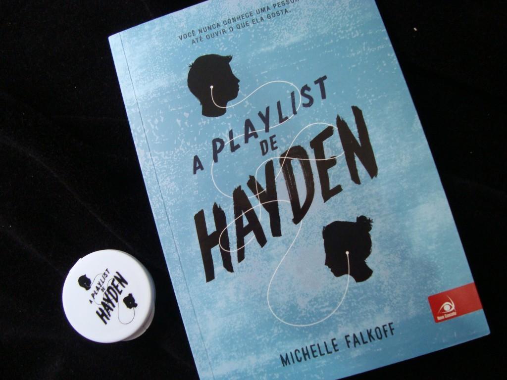 capa do livro A playlist de Hayden
