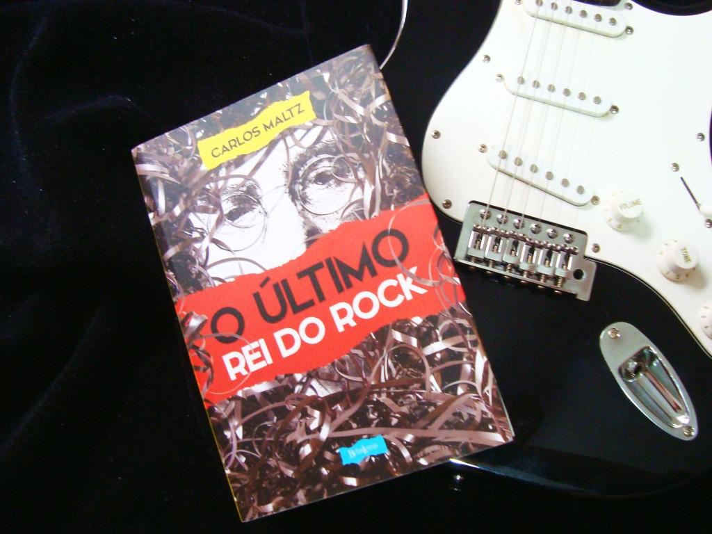 capa do livro O último rei do rock