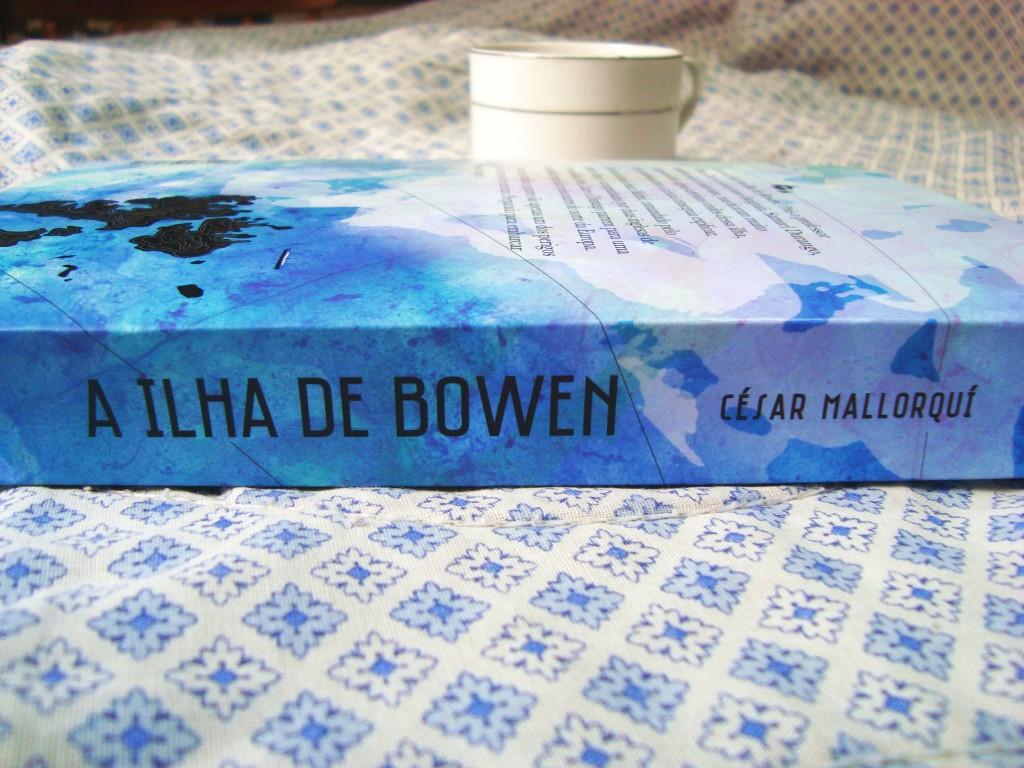 lombada do livro A ilha de Bowen