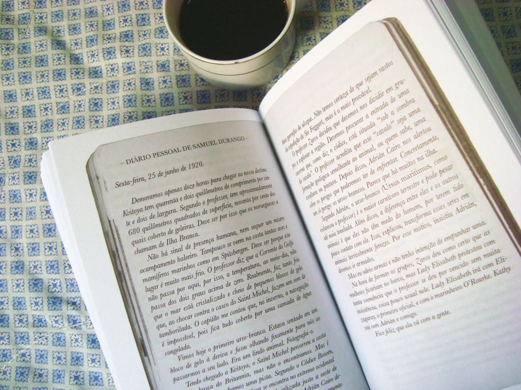 página do livro A ilha de Bowen