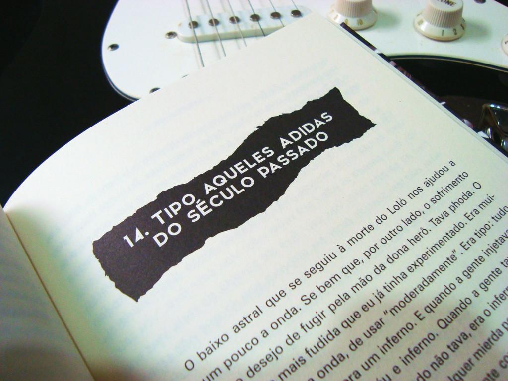 página do livro O último rei do rock
