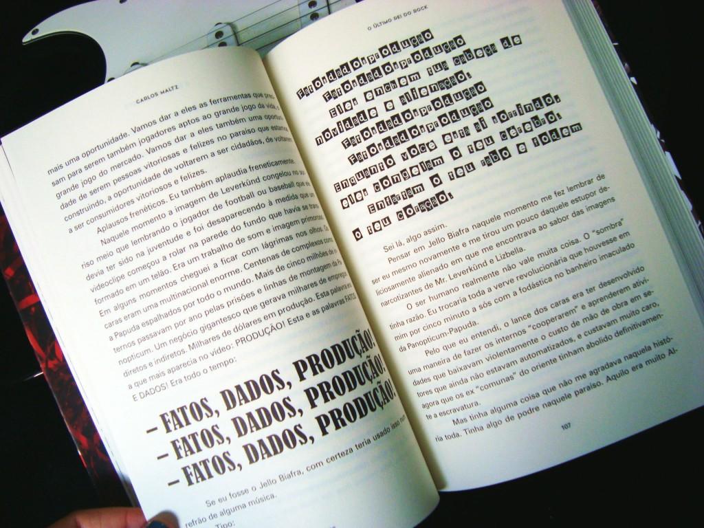 páginas do livro o último rei do rock carlos