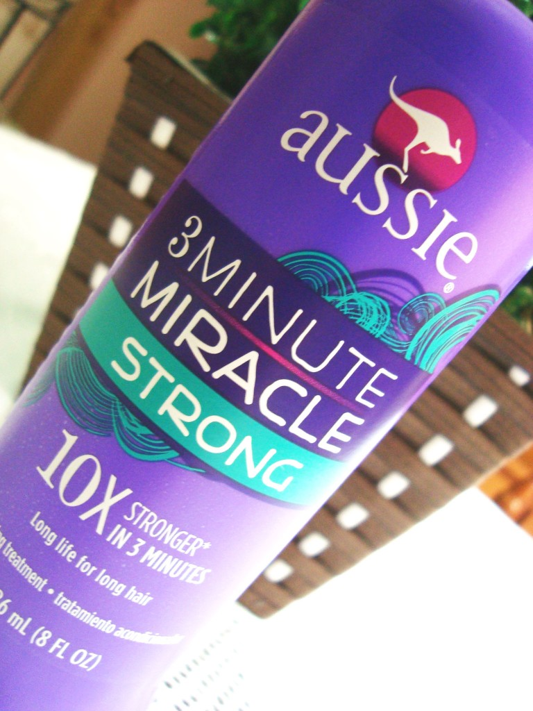 creme para cabelo aussie 3 minute miracle strong