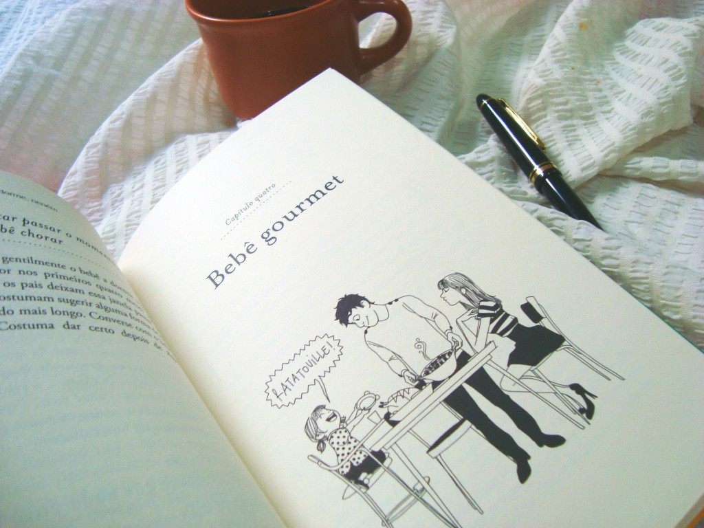 páginas do livro Crianças francesas dia a dia