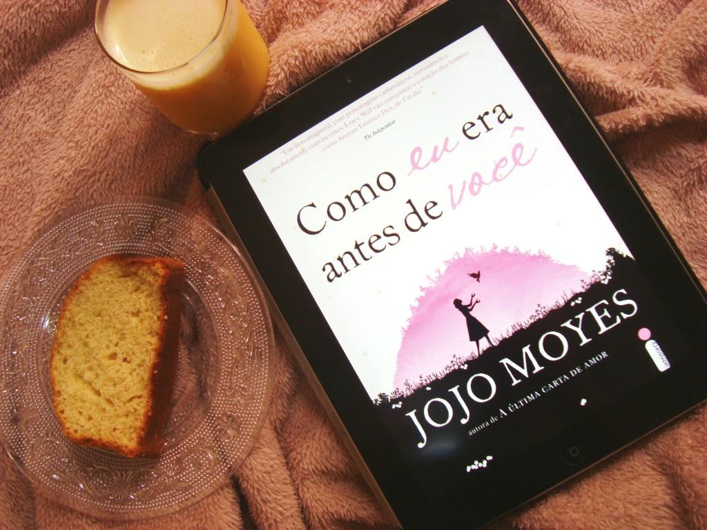 capa do livro Como eu era antes de você Jojo Moyes