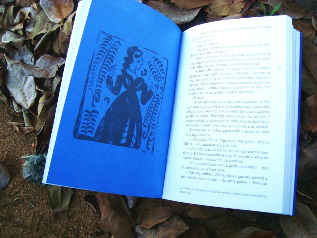 diagramação do livro Cordeluna editora Biruta