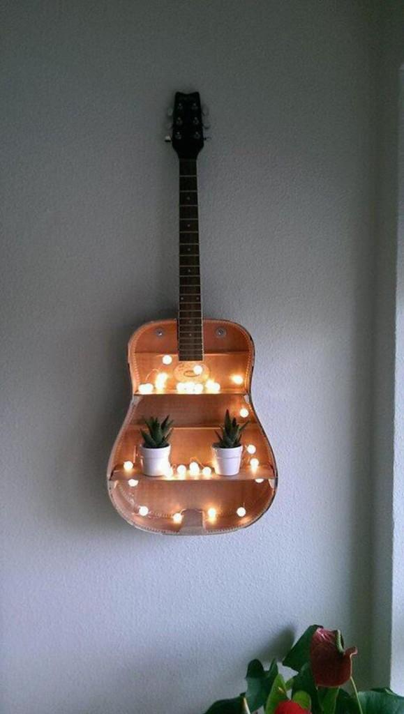 violão na decoração