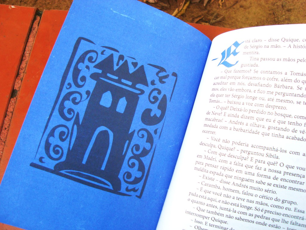 página do livro Cordeluna editora Biruta