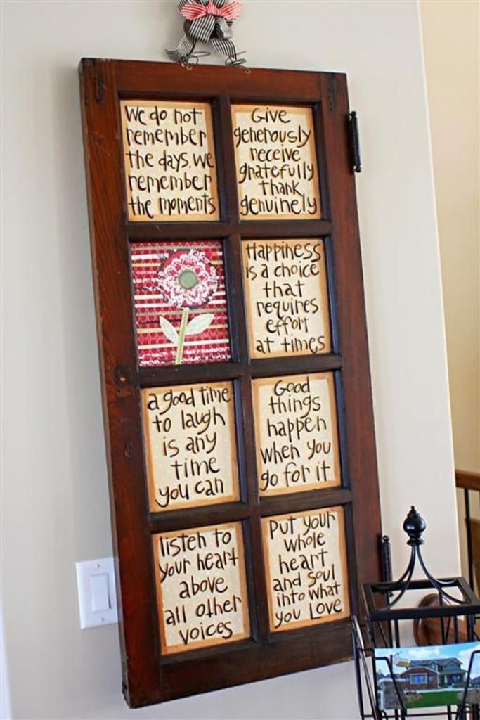 janela na decoração, quadro