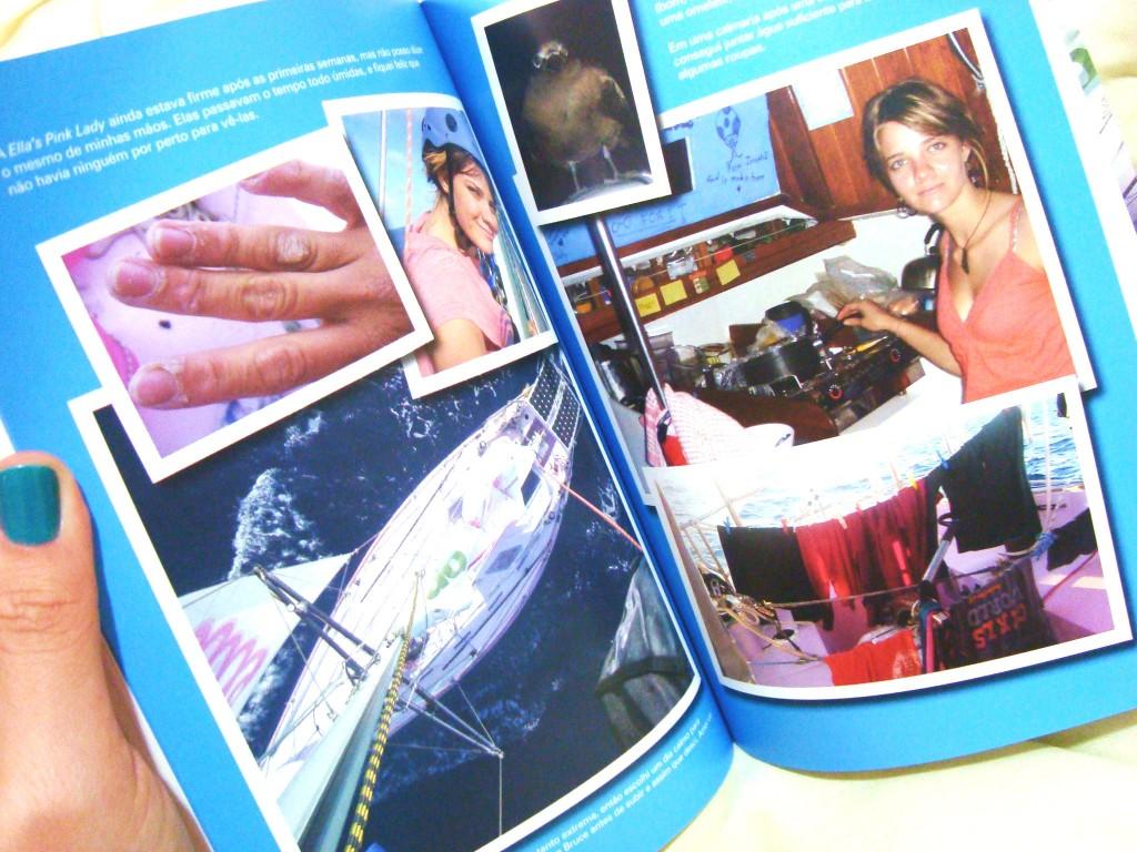 fotos do livro Destemida