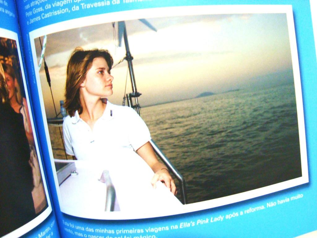 fotos do livro Destemida de Jessica Watson