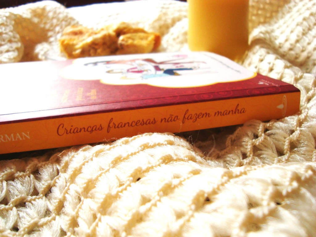 lombada do livro Crianças francesas não fazem manha