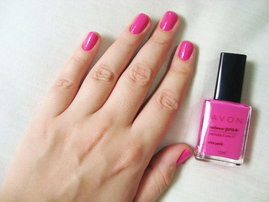 AVON - esmalte Viva Pink