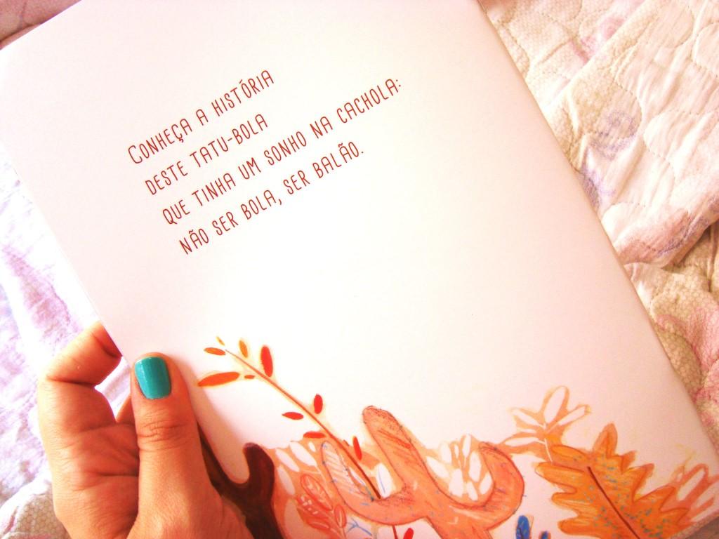 Fundação Itaú Social -  Livro Tatu balão