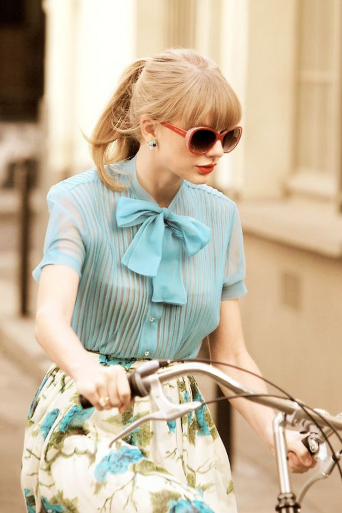 Taylor Swift look - vintage