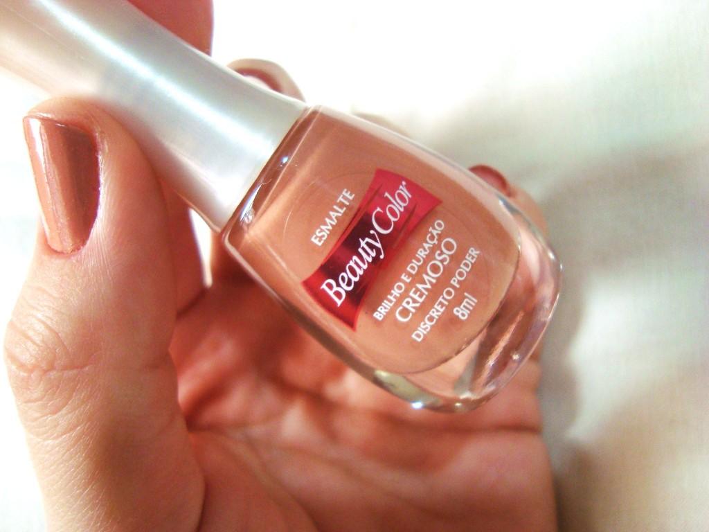 esmalte nude - beauty color - perolado
