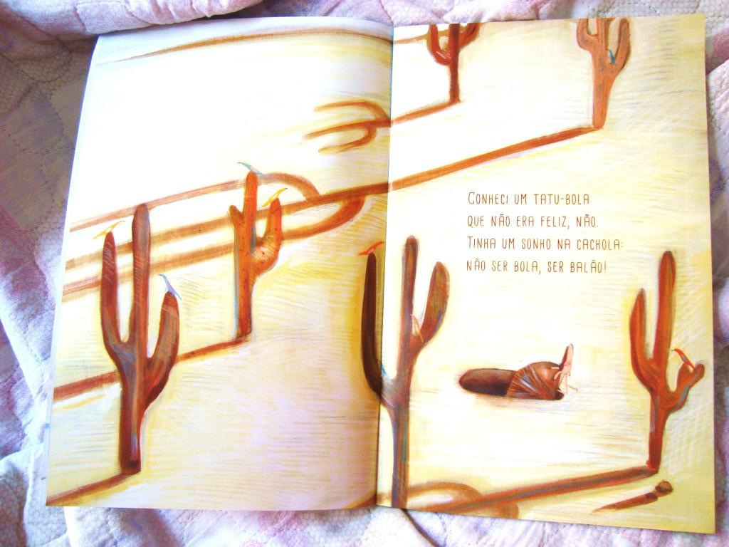 livro Tatu balão