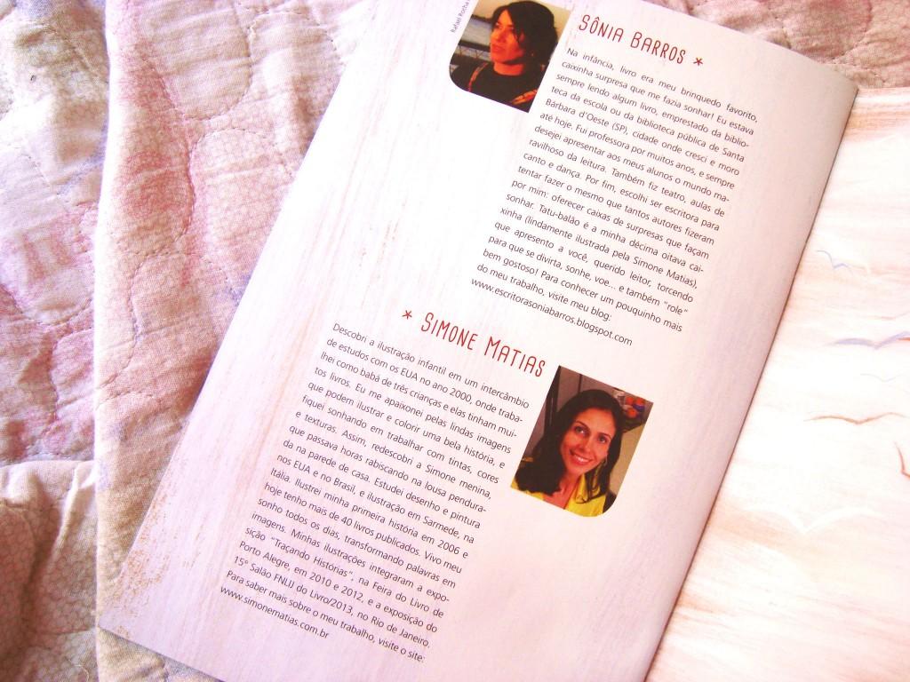 livro Tatu balão - Fundação Itaú Social