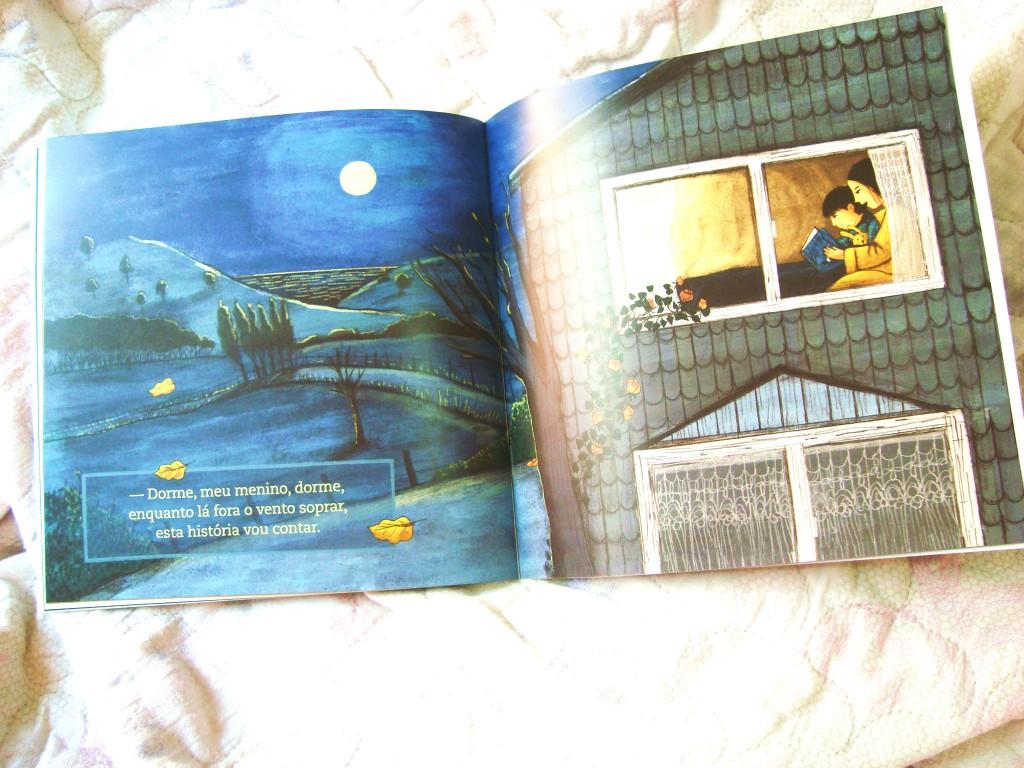livro dorme menino dorme - projeto da Fundação Itau
