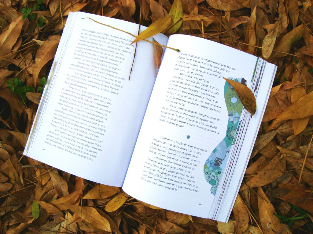 página do livro Morada das Lembranças