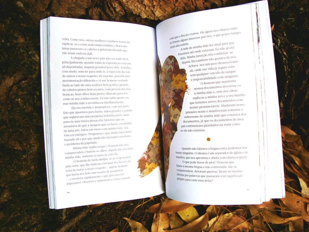 páginas do livro morada das lembranças