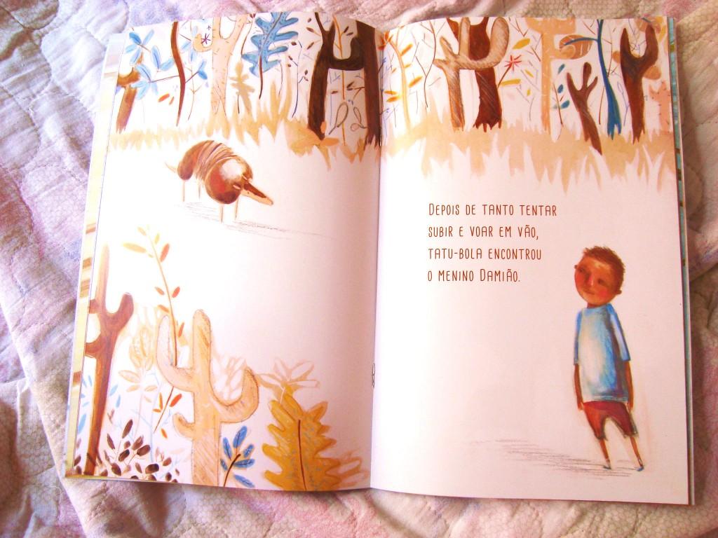 projeto leia para uma criança - livro tatu balão - fundação itau social