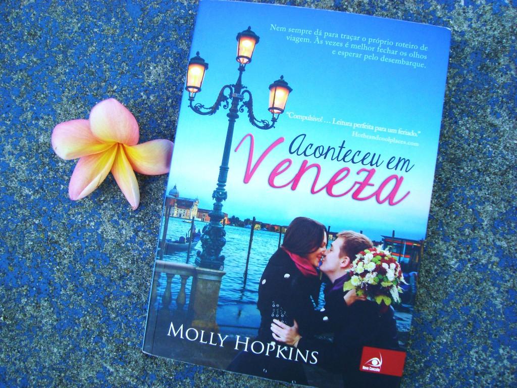 capa do livro Aconteceu em Veneza