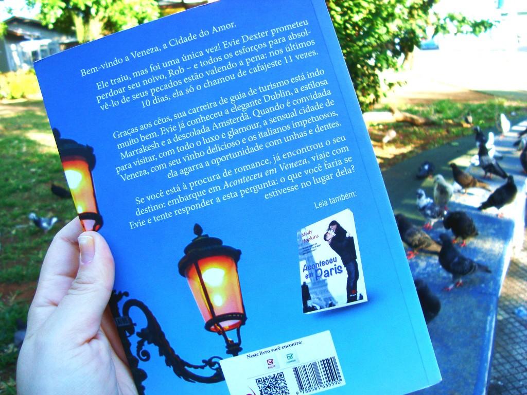 contra-capa - livro - Aconteceu em Veneza