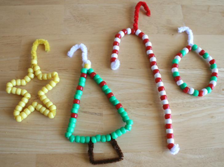 enfeites artesanais de natal