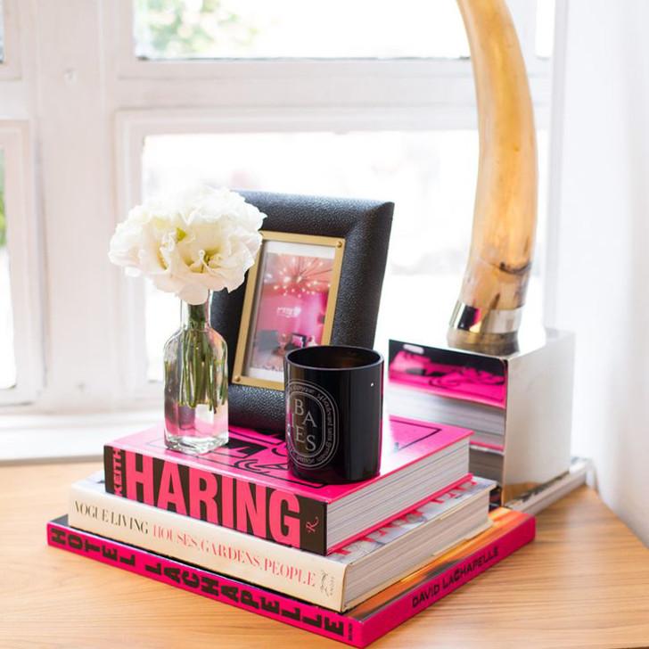 decor - livros - mesa