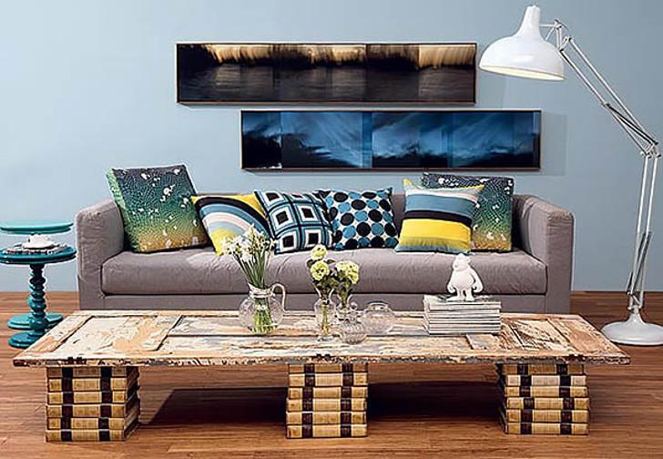 livro - mesa de centro - decor - sala de estar
