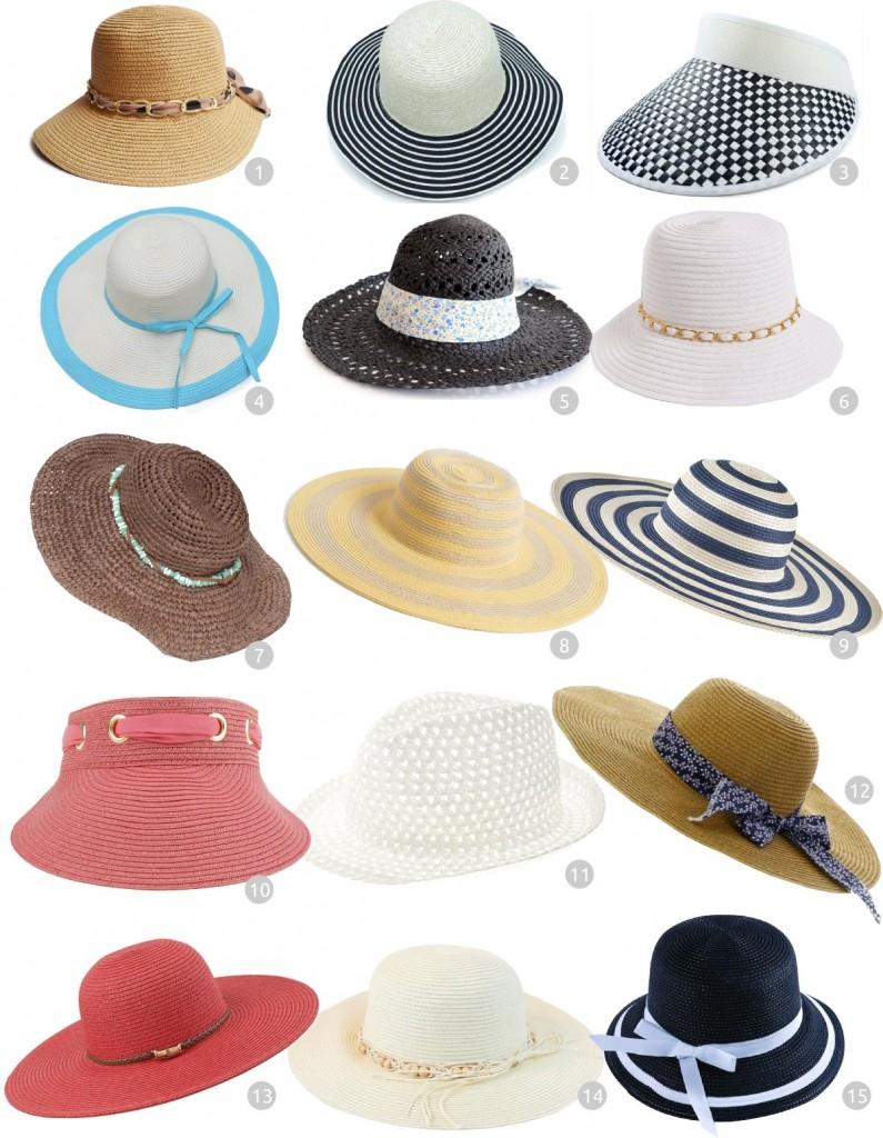 compra online - chapéus de praia