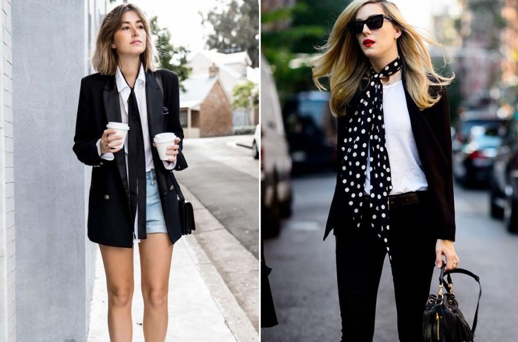 skinny scarf - como usar