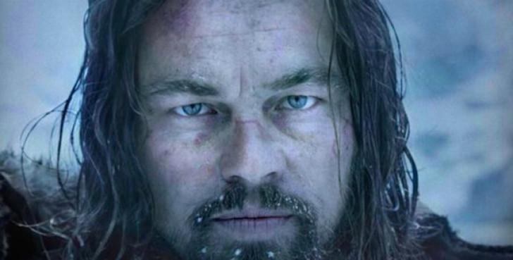 Leonardo DiCaprio em O Regresso