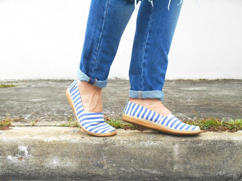 jeans e alpargatas - como usar