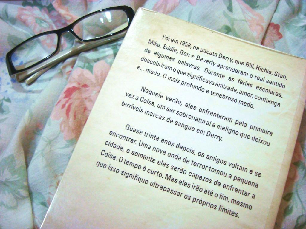 Livro - IT A COISA - resenha