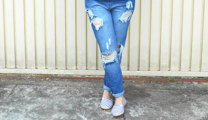 como usar macacão jeans
