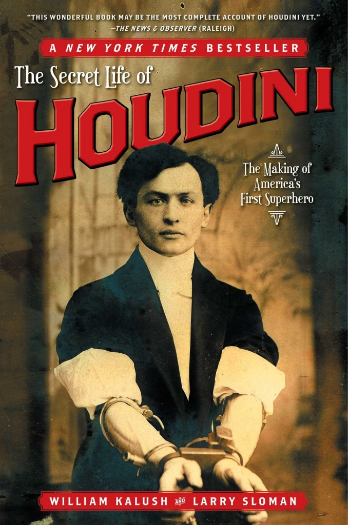"Capa do livro ""The secrete life of Houdini"""